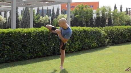 Test der Hüftbeweglichkeit